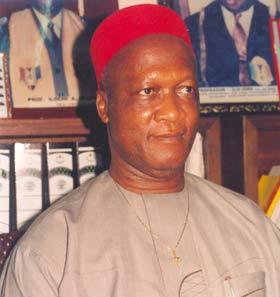 Professor Boniface Egboka Foto: Vanguard