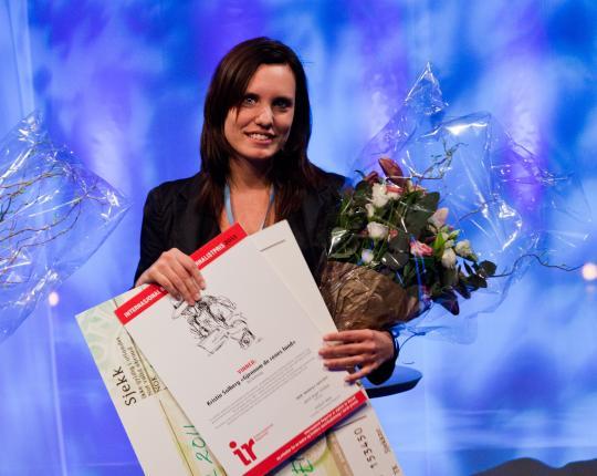 IR-prisen 2011 gikk til Kristin Solberg