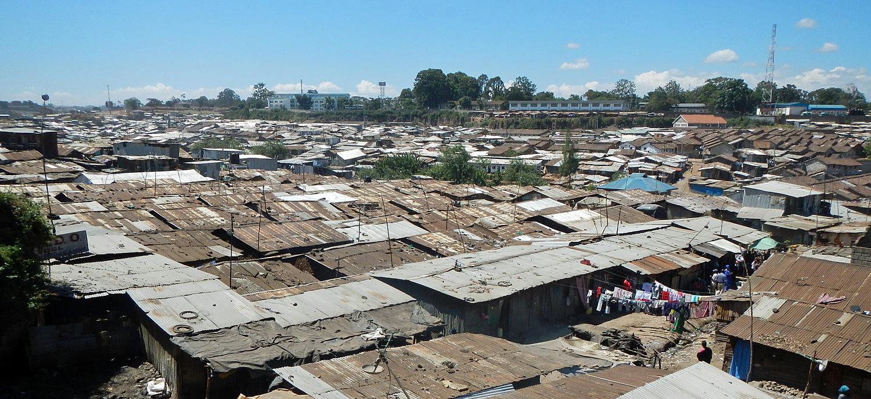 Utsikt over Mathare. Foto: Stian Eisenträger