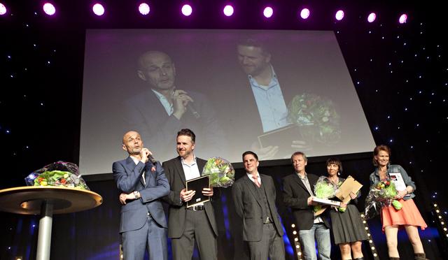 IR-prisen 2012 - vi gratulerer! Foto: Anette Karlsen / SKUP