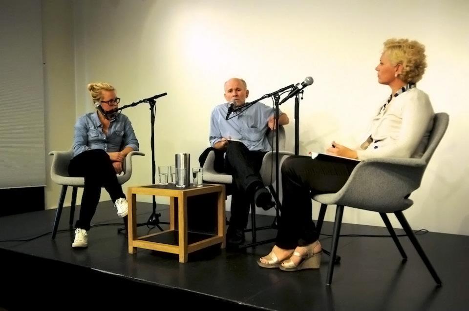 Katarina Höije, Jon Pedersen og Wivi Engen i samtale om Mali - IRs sommerseminar 2012.