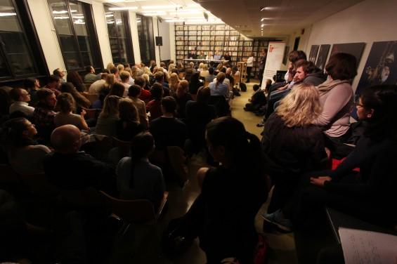 Takk til alle som kom og hørte på Borri og debatt den 23. september! Foto: K. Ziesler